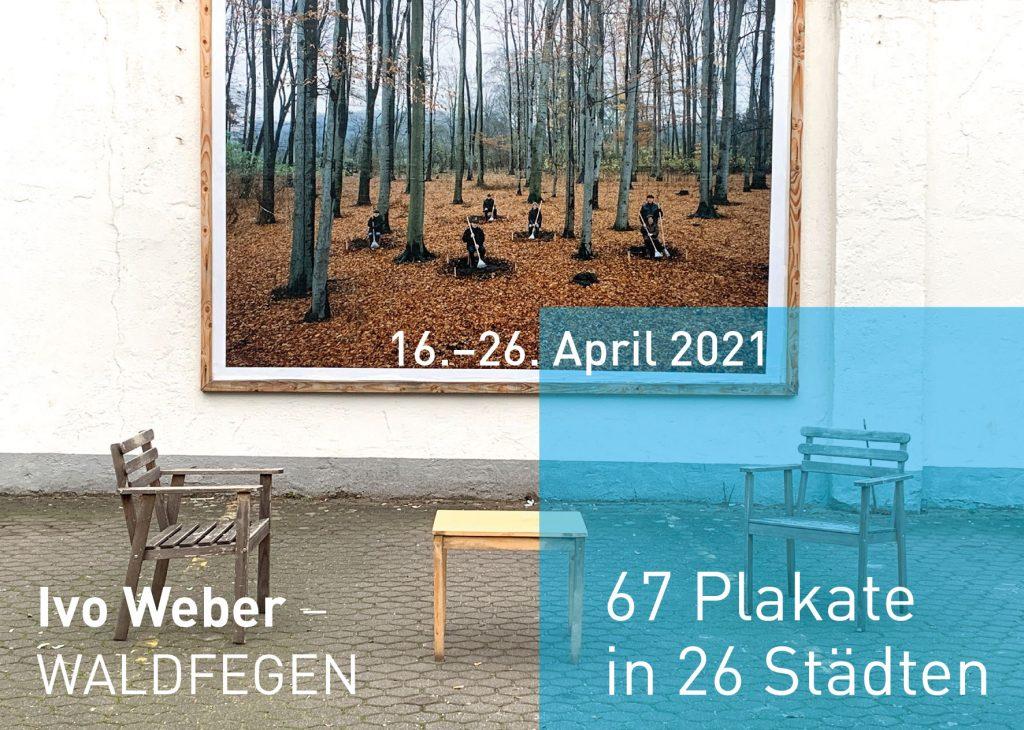 Ivo Weber Waldfegen Plakate Kunst