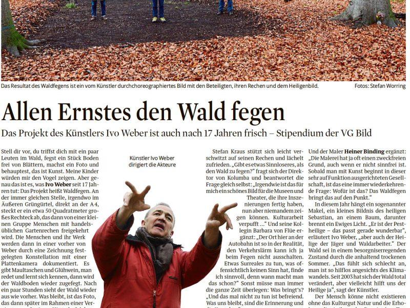 Ivo Weber waldfegen Kölner Stadtanzeiger
